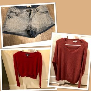 Sweaters - 3 Pc Bundle for Sale !